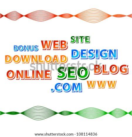 Web concept - stock vector