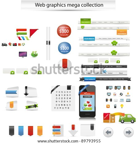 Web graphics collection
