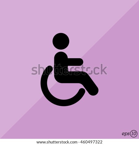 Web icon. Disabled