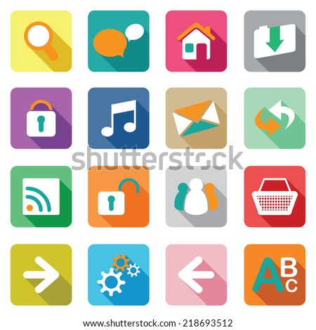 web icon set