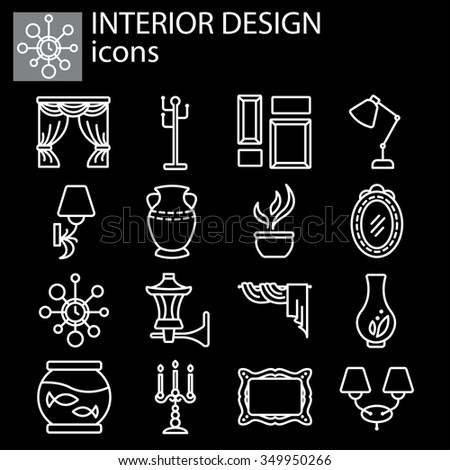 Coffee Drink Shop Icons Design Vector Stock 330863573