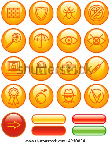 Web Icons Set – Safety (Vector) You'll find more icons in my portfolio