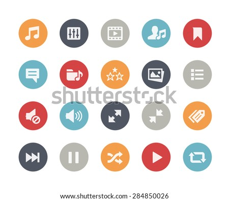 Web & Mobile Icons - 7 // Classics Series - stock vector