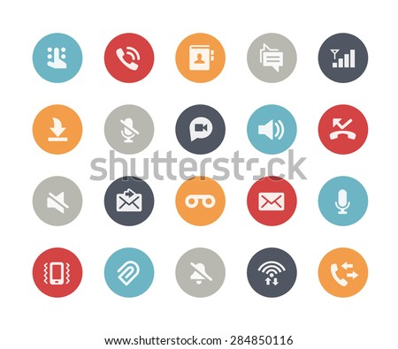 Web & Mobile Icons - 1 // Classics Series - stock vector
