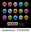 Web Navigation Vector Icons  / The file Includes 5 color versions in different layers. - stock vector