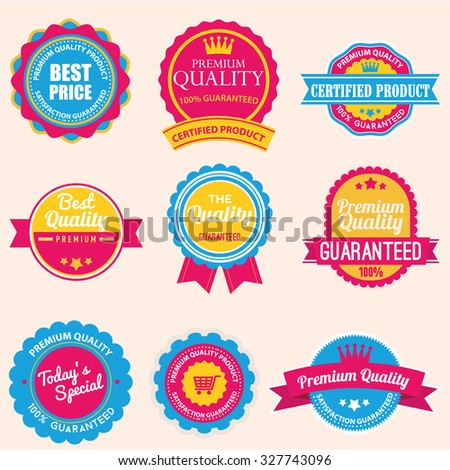 Web stickers, banners and labels. Sale arrow tag icons. Discount special offer symbols. 50%, 60%, 70% and 80% percent. Price tags set. Vector illustration