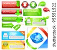 Web tags. Vector - stock