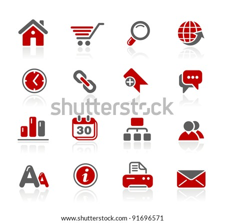 Website Icons - stock vector
