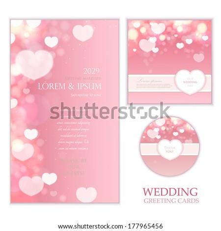 Gift Voucher Coupon Discount Happy Valentines Stock Vector 551868346 ...