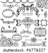 Wedding design. Set. - stock photo
