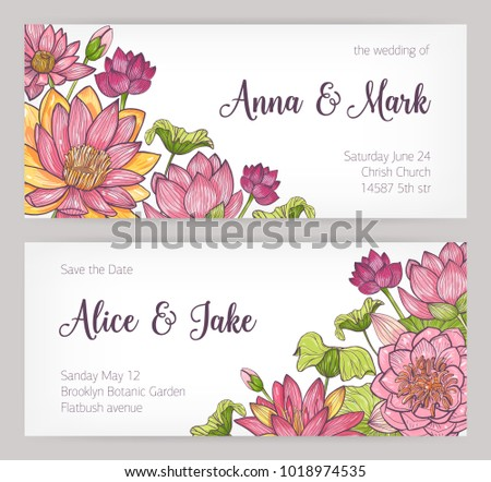 save the date cards templates