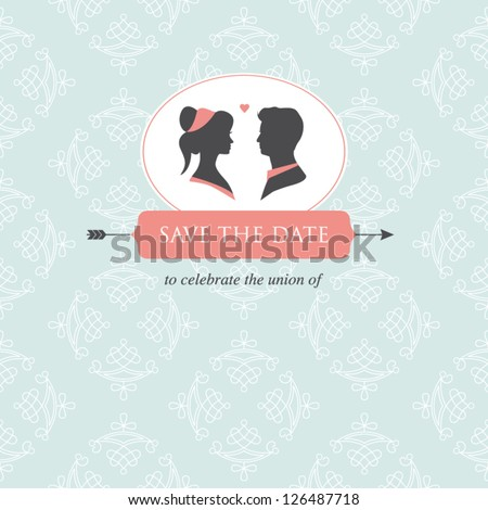Wedding Invitation Card Template Editable Wedding Stock Photo Photo