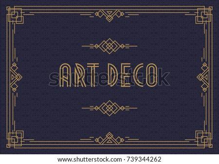 Wedding Invitation Card Template Horizontal Art Stock Vector HD ...