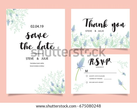 Wedding invitation card template text stock photo photo vector wedding invitation card template with text stopboris Gallery