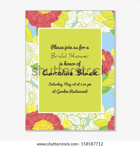 Wedding invitation card vector file contains stock vector 158587712 wedding invitation card vector file contains few layers for easy using stopboris Gallery