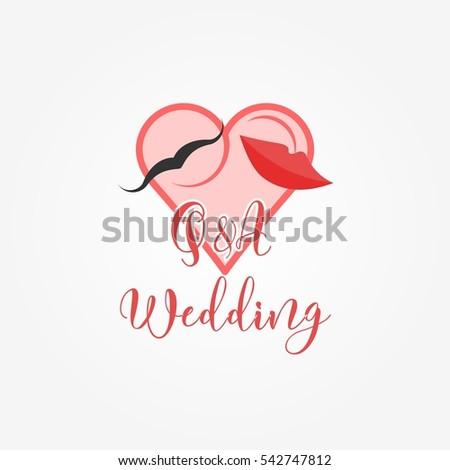 wedding invitation logo design