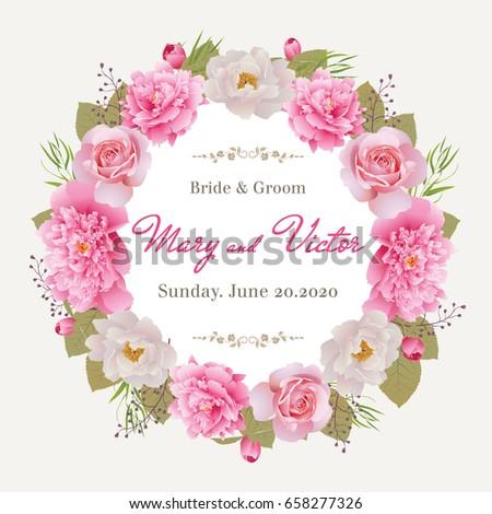 Wedding Invitation Thank You Card Save Vector 587424395 – Designing an Invitation Card