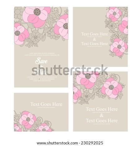 Wedding invitation vector stock vector royalty free 230292025 wedding invitation vector stopboris Images