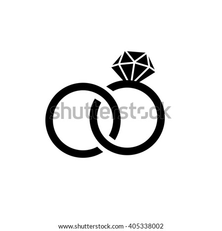 in with marriage apps the vector icon for diamond of websites w wedding flat together stock linked rings photo symbol and