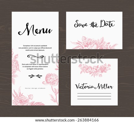 Wedding Menu Stock Images, Royalty-Free Images & Vectors