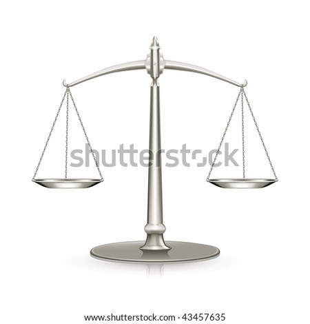 Weight Scale, mesh - stock vector