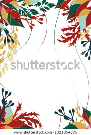 Welcome reception invitation october light background stock vector welcome reception invitation october light background landscape stopboris Image collections