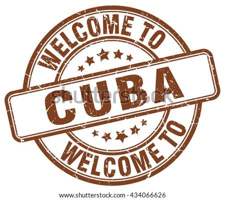 welcome to Cuba stamp.Cuba stamp.Cuba seal.Cuba tag.Cuba.Cuba sign.Cuba.Cuba label.stamp.welcome.to.welcome to.welcome to Cuba. - stock vector