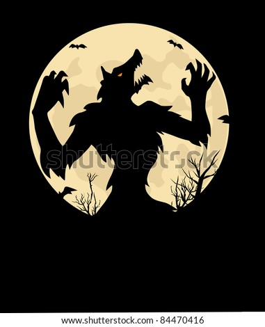 WereWolf - stock vector