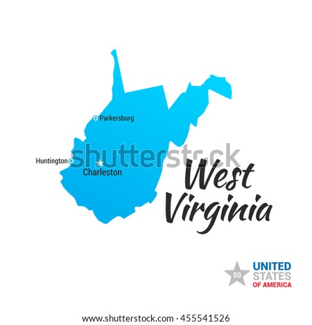 Us Map According To West Virginians Globalinterco - Map of us with west highlighted