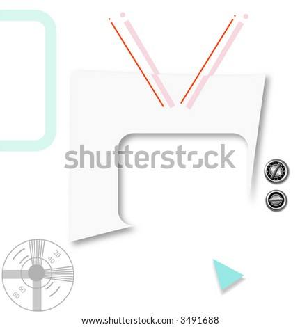 Whats On Your Copy Graphic This Stock Vector 3491688 Shutterstock