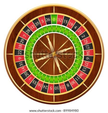 Wheel of fortune, vector - stock vector
