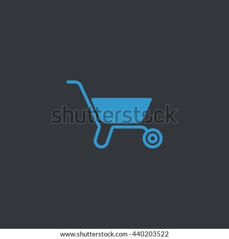 Wheelbarrow Icon Vector. WheelbarrowIcon JPEG. Wheelbarrow Icon Object. Wheelbarrow Icon Picture. Wheelbarrow Icon Image. Wheelbarrow Icon Graphic. Wheelbarrow Icon Art. Wheelbarrow - stock vector