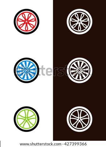 wheels - stock vector