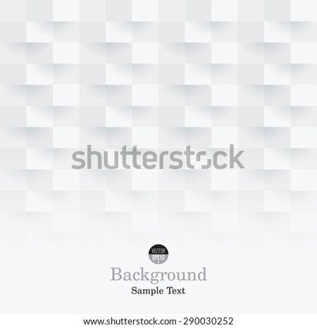White abstract background vector. Can be used in cover design, book design, website background, CD cover or advertising. - stock vector