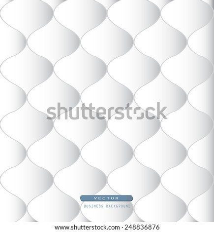 white abstraction Leather pattern, vintage, retro, 3d concept with place for your text,  design for business card, brochure, textured, tile, surface, scrapbooking, booklet, sheet, furniture pattern - stock vector