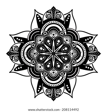 Black And White Abstract Designs Tattoo White And Black Abstract
