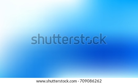 White and Blue Abstract Gradient blurred vector background