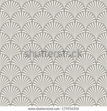 White and grey Ornamental seamless pattern. Vector abstract background