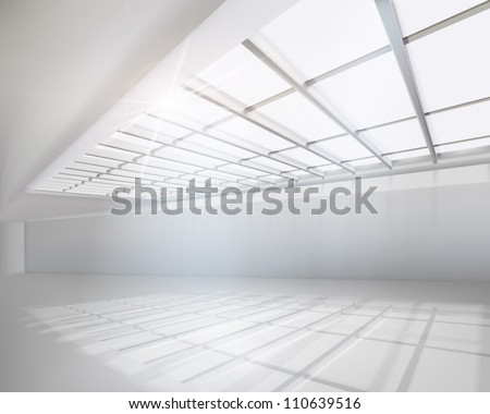 White apartment. Vector illustration. - stock vector