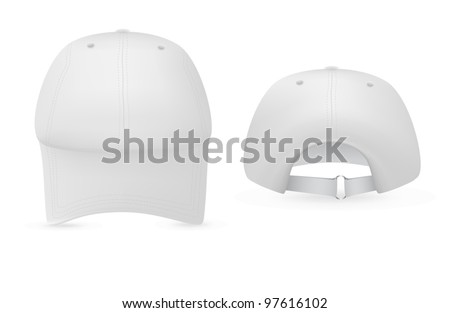 baseball cap template stock images royalty free images vectors