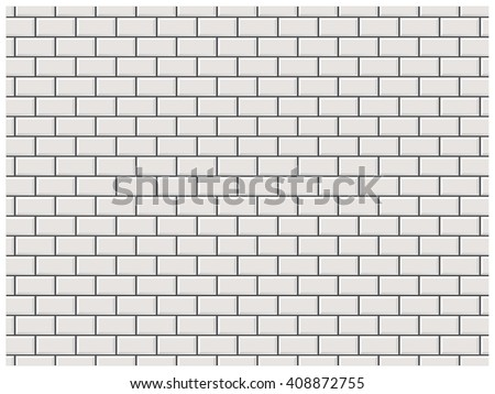 Subway Pattern white brick wall subway tile pattern stock vector 408872755