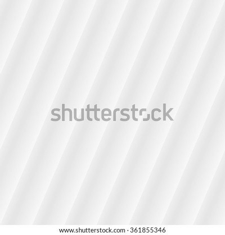 White corrugated paper seamless background for web design. - stock vector