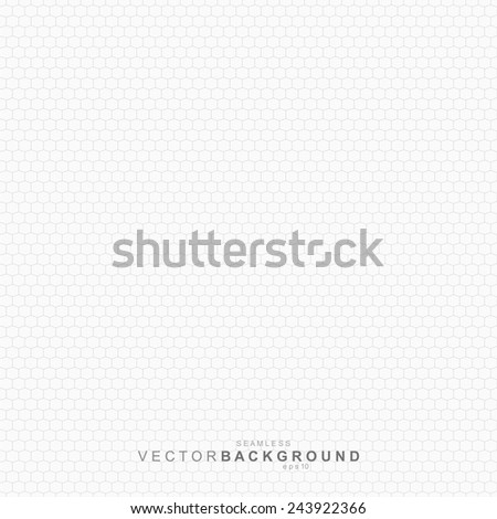 White geometric texture, net repeatable pattern. - stock vector