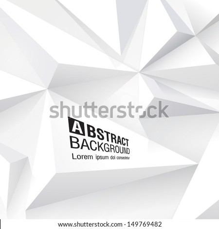White geometric texture. Vector background. white background. Cover design. - stock vector