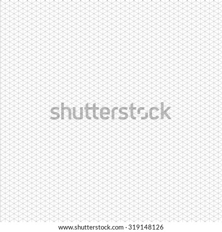 Isometric Grid Template Your Design Vector Stock Vector