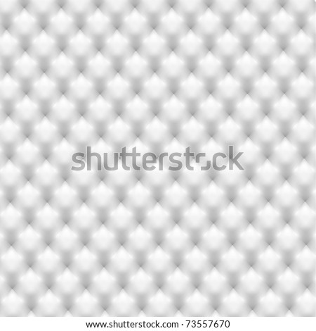 White leather texture - stock vector