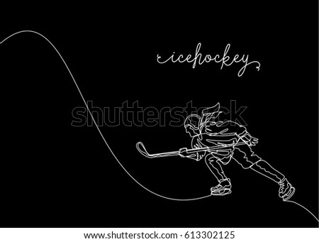 One Line Art Animation : White one line drawing continuous stock vector 613302125