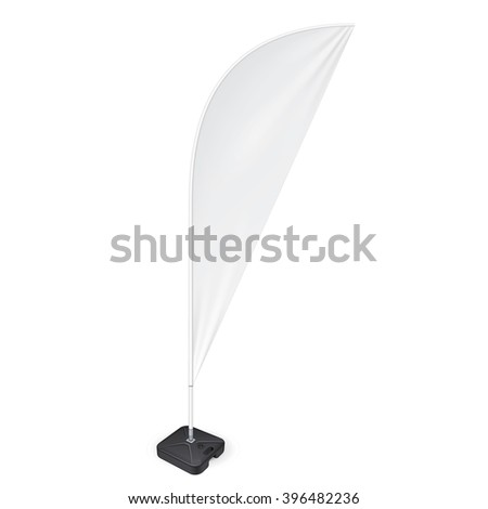 Feather flag stock images royalty free images vectors for Sharkfin banner template