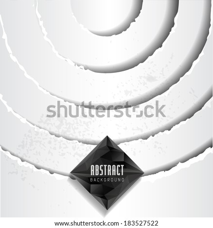 White Paper Background. Texture. Old Torn Paper Background - stock vector