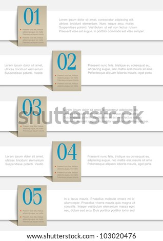 Vector Empty Paper Sheet Stock Vector 131282837 - Shutterstock